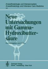 Neue Untersuchungen mit Gamma-Hydroxibuttersäure