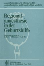 Regionalanaesthesie in der Geburtshilfe