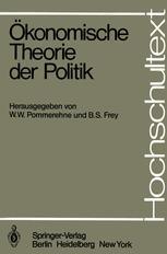 Ökonomische Theorie der Politik