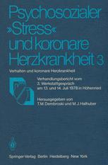 """Psychosozialer """"Stress"""" und koronare Herzkrankheit 3"""