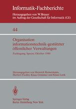 Organisation informationstechnik-gestützter öffentlicher Verwaltungen