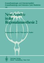 Neue Aspekte in der Regionalanaesthesie 2