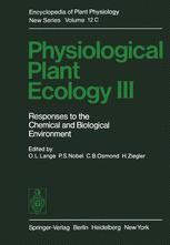 Physiological Plant Ecology III