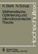 Mathematische Optimierung und mikroökonomische Theorie