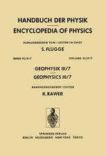 Geophysik III / Geophysics III