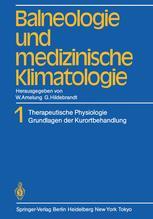 Balneologie und medizinische Klimatologie
