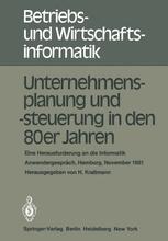 Unternehmensplanung und -steuerung in den 80er Jahren