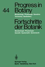 Progress in Botany / Fortschritte der Botanik