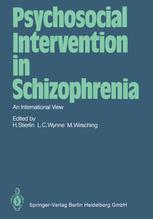 Psychosocial Intervention in Schizophrenia