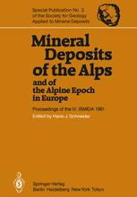 Mineral Deposits of the Alps and of the Alpine Epoch in Europe
