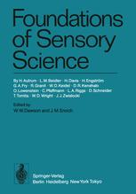 Foundations of Sensory Science