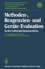 Methoden-, Reagenzien- und Geräte-Evaluation in der Laboratoriumsmedizin