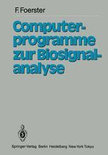 Computerprogramme zur Biosignalanalyse