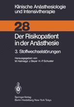Der Risikopatient in der Anästhesie