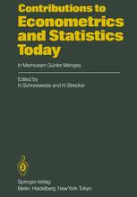 Contributions to Econometrics and Statistics Today