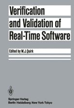 Verification and Validation of Real-Time Software