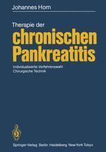 Therapie der chronischen Pankreatitis