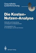 Die Kosten — Nutzen — Analyse