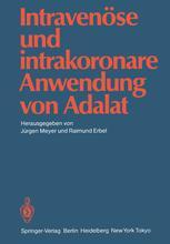 Intravenöse und intrakoronare Anwendung von Adalat