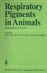 Respiratory Pigments in Animals