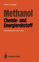 Methanol — Chemie- und Energierohstoff
