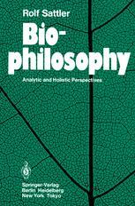 Biophilosophy