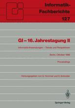 GI — 16. Jahrestagung II