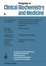 Control of Immune Response by Endocrine Factors Malaria Vaccine Controlled Drug Delivery Enzyme-Immunoassay