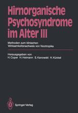 Hirnorganische Psychosyndrome im Alter III