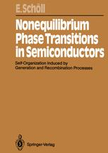 Nonequilibrium Phase Transitions in Semiconductors