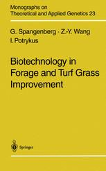 Biotechnology in Forage and Turf Grass Improvement