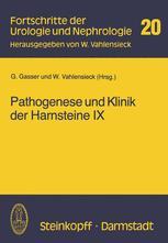 Pathogenese und Klinik der Harnsteine IX