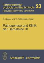 Pathogenese und Klinik der Harnsteine XI