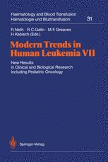 Modern Trends in Human Leukemia VII