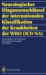 Neurologischer Diagnosenschlüssel der internationalen Klassifikation der Krankheiten der WHO (ICD-NA)