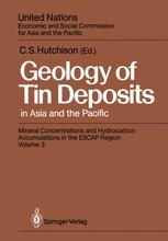 Geology of Tin Deposits in Asia and the Pacific