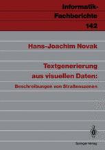 Textgenerierung aus visuellen Daten: Beschreibungen von Straßenszenen
