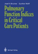 Pulmonary Function Indices in Critical Care Patients