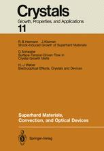 Superhard Materials, Convection, and Optical Devices