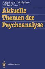 Aktuelle Themen der Psychoanalyse