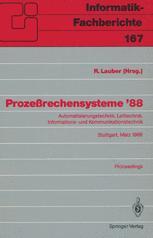 Prozeßrechensysteme '88