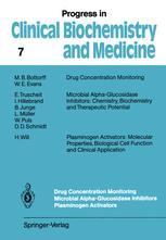 Drug Concentration Monitoring Microbial Alpha-Glucosidase Inhibitors Plasminogen Activators