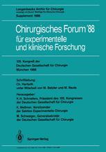 105. Kongreß der Deutschen Gesellschaft für Chirurgie München, 6.–9. April 1988