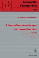 Informatikanwendungen im Umweltbereich