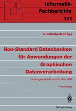 Non-Standard Datenbanken für Anwendungen der Graphischen Datenverarbeitung