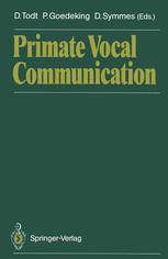 Primate Vocal Communication