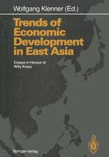 Trends of Economic Development in East Asia