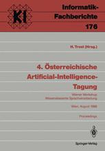 4. Österreichische Artificial-Intelligence-Tagung