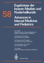 Ergebnisse der Inneren Medizin und Kinderheilkunde / Advances in Internal Medicine and Pediatrics