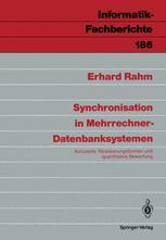 Synchronisation in Mehrrechner-Datenbanksystemen